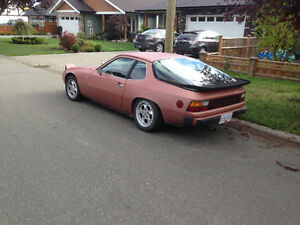 Porsche 924 1977 lowered