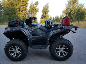2016 Yamaha Grizzly 700 EPS Special Edition - only 1000 kms
