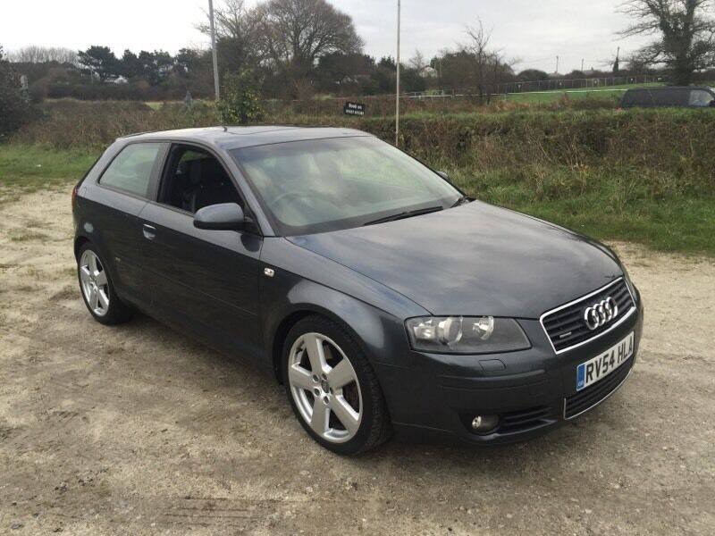 audi a3 sport 3 2 v6 manual quattro grey 2004 in newquay cornwall gumtree. Black Bedroom Furniture Sets. Home Design Ideas