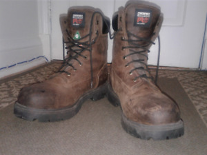 "(TIMBERLAND) PRO BOOTS 8""-(SZ 12)-WORN ONLY 2-3X-(PD$160+TX)-$75"