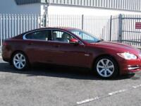 JAGUAR XF LUXURY V6 AUTOMATIC 2010 Diesel Automatic in Maroon