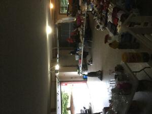 Garage Sale Rain or Shine Indoors