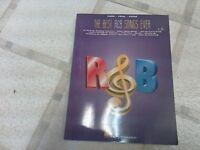 Best R&B Songs Ever Music Book