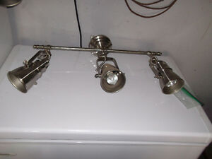 3 sets of track lighting