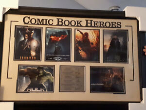 Comic book shadow box