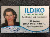 Residential cleaner looking for new clients and staff
