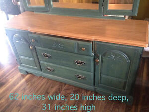 Dresser & Matching Headboard w/queen sized frame incl. Strathcona County Edmonton Area image 1