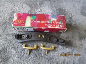 KUN Collapsible Shoulder Rest for 1/2 & 3/4 Violin