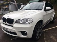 2012 62 BMW X5 XDRIVE 3.0D M SPORT FBMWSH PRISTINE THROUGHOUT