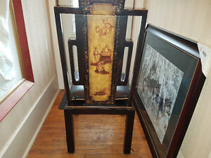ASIAN DINING CHAIRS (6)