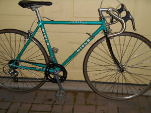 2 NICE VINTAGE MIELE ROAD RACE TRIA BIKES-SIZE XS AND MED