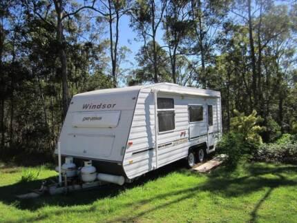Windsor Genesis 638S Caravan 2007 Cooran Noosa Area Preview