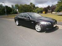 BMW 520 2.0 520d SE (black) 2011