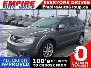 2013 DODGE JOURNEY R/T * AWD * LEATHER