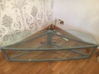 Glass tv unit ****reduced****
