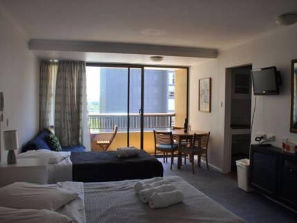 Accommodation Sydney - Studio Apartment with Balcony