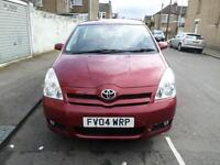 2004 TOYOTA COROLLA VERSO 1.8 VVT i T3 5dr MMT Automatic