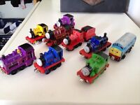 Thomas Take n play trains X 9