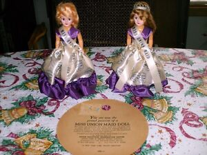 "Set of Two ""Miss Union Maid Dolls"" with Original CaseCertificate Sarnia Sarnia Area image 1"