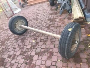 72 inch Mobile home axle