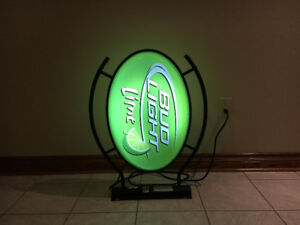 Bud Light Lime Beer Neon Bar Sign - $200 OBO