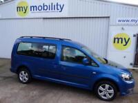 Volkswagen Caddy Maxi Life WINCH 5 Seat Wheelchair Accessible Disabled Adapted W