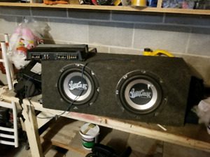 10 Inch Subs and Amp