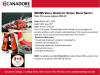 SDVBS Small Domestic Vessel Basic Safety