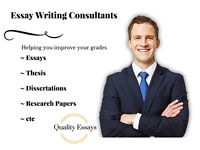 Essay Writing: 1st Class Quality Papers