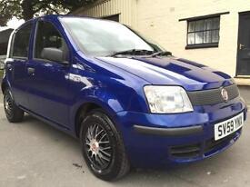 2009 59 Fiat Panda 1.1 Active ECO 5 Door Met Magnetic Blue **LOW MILEAGE**