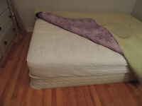 Double Bed (150$) and Sofa Bed (100$)