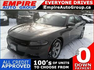 2015 DODGE CHARGER SXT * RWD * BLUETOOTH * HEATED SEAT * LOW KM