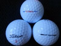 Titleist DT Solo Golf Balls x 50. Pearl Condition