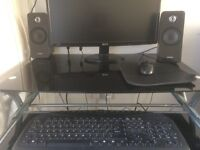 HP PC DESKTOP COMPUTER COMPLETE