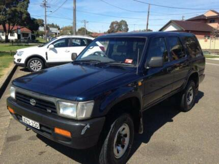 1992 Sep/2016 rego 4x4 Toyota 4 Runner 5 speed Wagon Lidcombe Auburn Area Preview