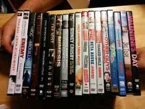 DVD's 3 for $5
