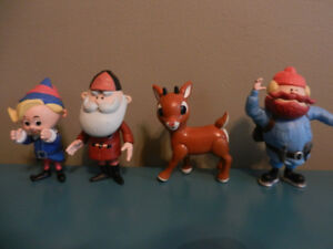 Rudolph The Red Nosed Reindeer 4 Talk and Sing Figures