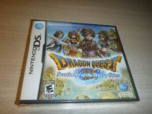 Dragon Quest IX(sealed) and Radiant Historia(sealed)
