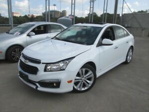 2015 Chevrolet Cruze LTZ HEATED SEATS! CRUISE CONTROL! LEATHE...