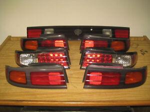 NISSAN 240SX SILVIA S14 GENUINE TAIL LIGHTS JDM SR20 TAIL LIGHTS