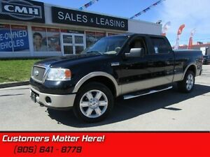 "2008 Ford F-150 Lariat  4WD, LEATHER, SUNROOF, 20""-ALLOYS"