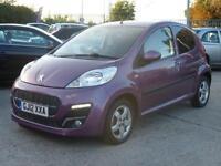 Peugeot 107 1.0 12v ALLURE, 5 DOOR, £30 ROAD TAX, ONE LADY OWNER, 49000 MILES