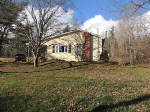 Bungalow for sale in Milford NS - sitting on 3.25 acres