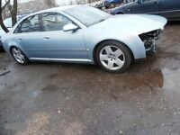 breaking parts audi a8 d3 2004 till 2008 door long sort wheel base 4.2i 4.0tdi injector rear bumper