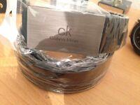 Calvin Klein leather men's belt