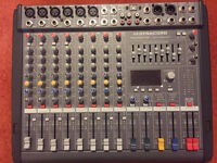 Dynacord Powermate 600 Mk3 Mixer and Ev SX 300 speakers , stands and leads for sale