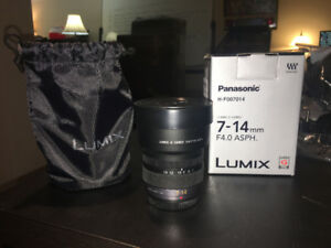 Panasonic Lumix 7-14mm f/4.0 Micro Camera Lens