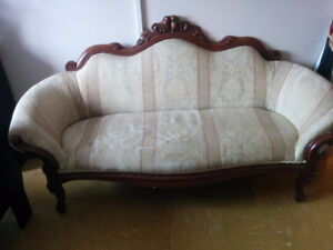 Lovely Antique couch with minor damage from a clean home :)