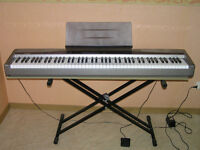 Casio Privia PX-100 Piano ( 88 weighted keys ) & stand & pedal
