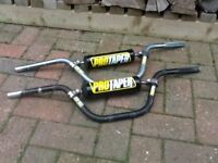 Pro taper pit bike handlebars
